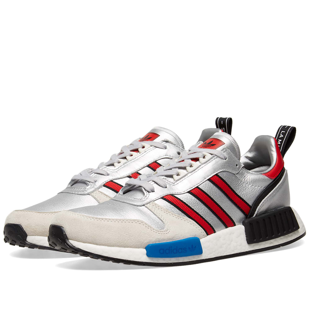 4ace4c1e9 Adidas RISINGSTARxR1 Silver Metallic