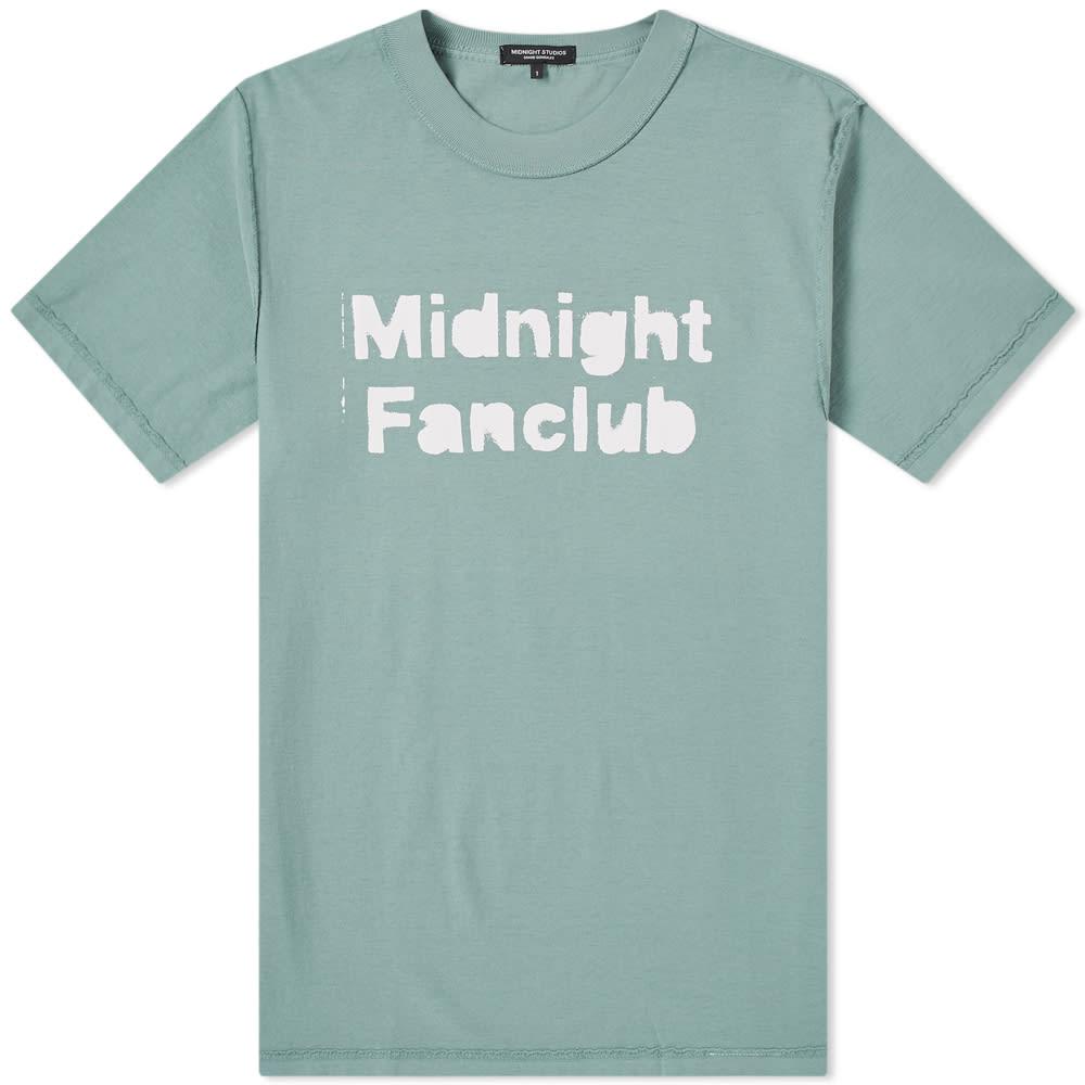 MIDNIGHT STUDIOS Midnight Studios Midnight Fanclub Tee in Green