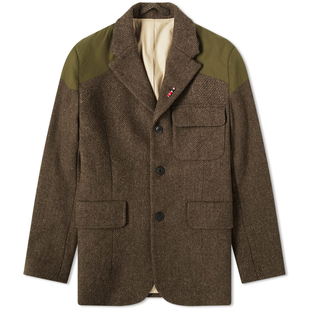 NIGEL CABOURN Nigel Cabourn Authentic Mallory Jacket in Green