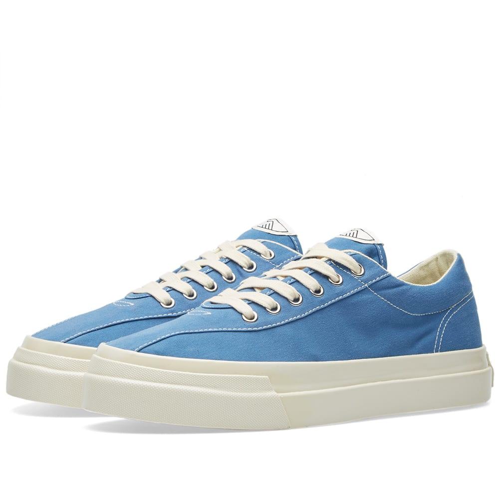 STEPNEY WORKERS CLUB Stepney Workers Club Dellow Canvas Sneaker in Blue