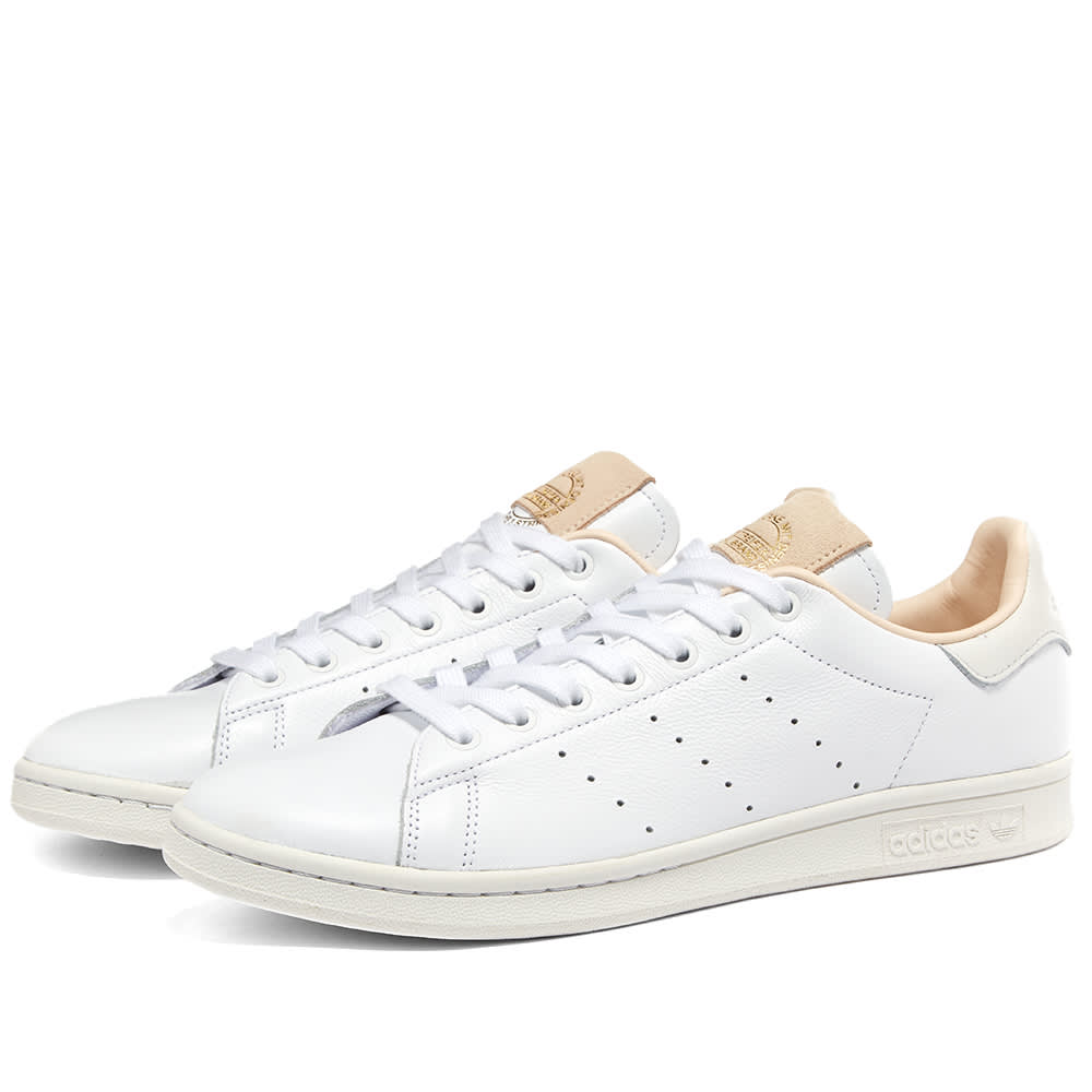 adidas Stan Smith Luxe W White White Green