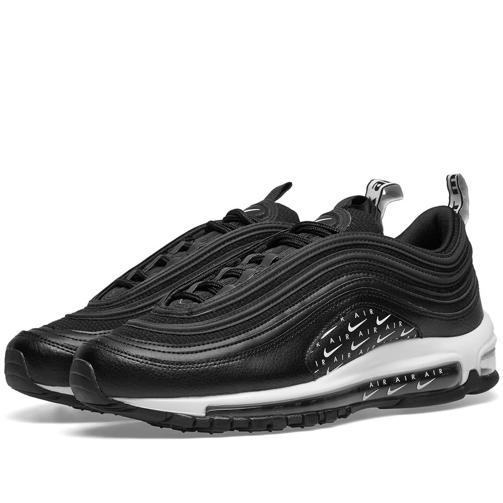 Details about Nike Womens Air Max 97 Lx Black White AR7621 001 Size Women's 10.5 = Men's 9