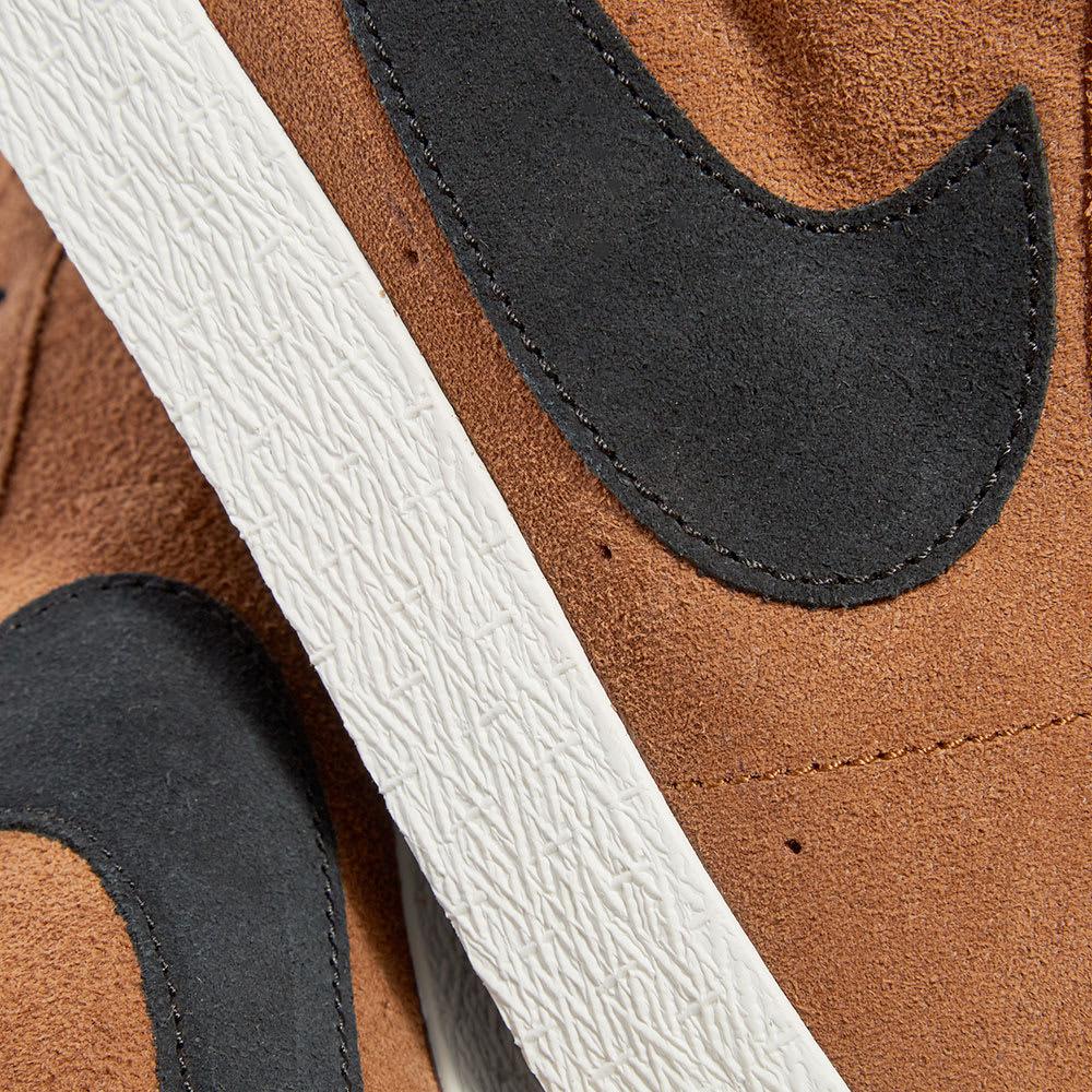 Nike SB Air Zoom Blazer Mid Light British Tan | 43einhalb Sneaker Store