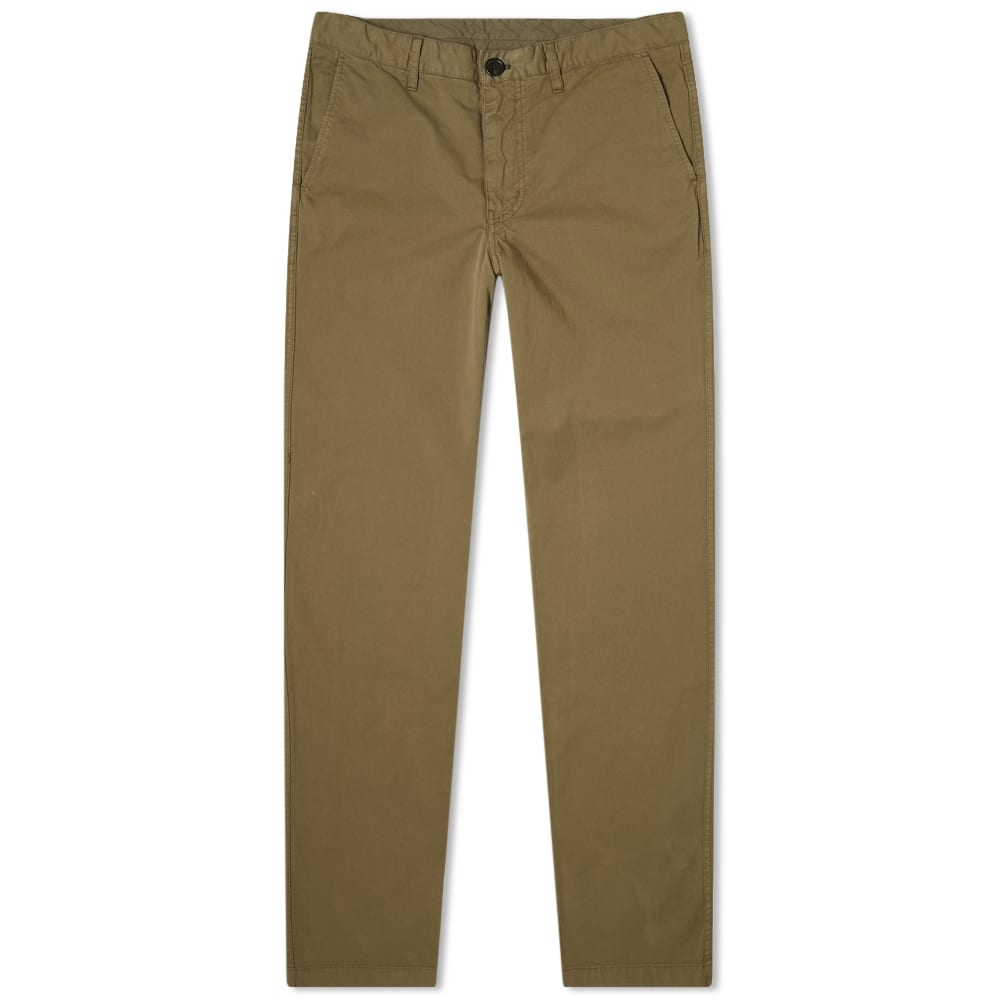 Paul Smith Tapered Fit Chino In Green