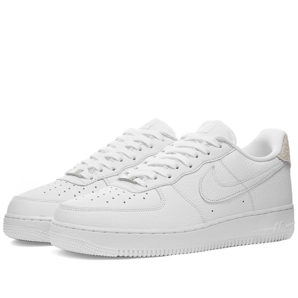 Estructuralmente Sostener Mediana  Nike Air Force 1 07 Craft White & Vast Grey | END.