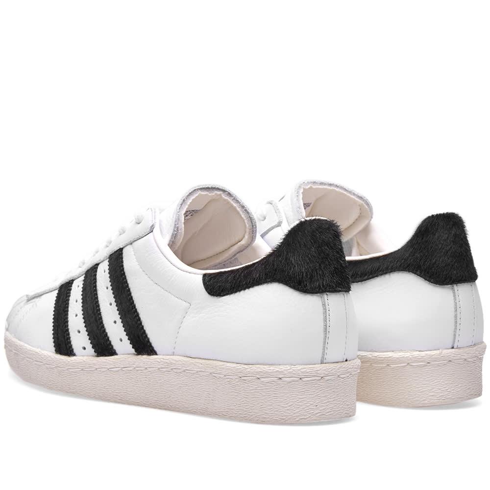 Adidas Superstar 80s White, Black