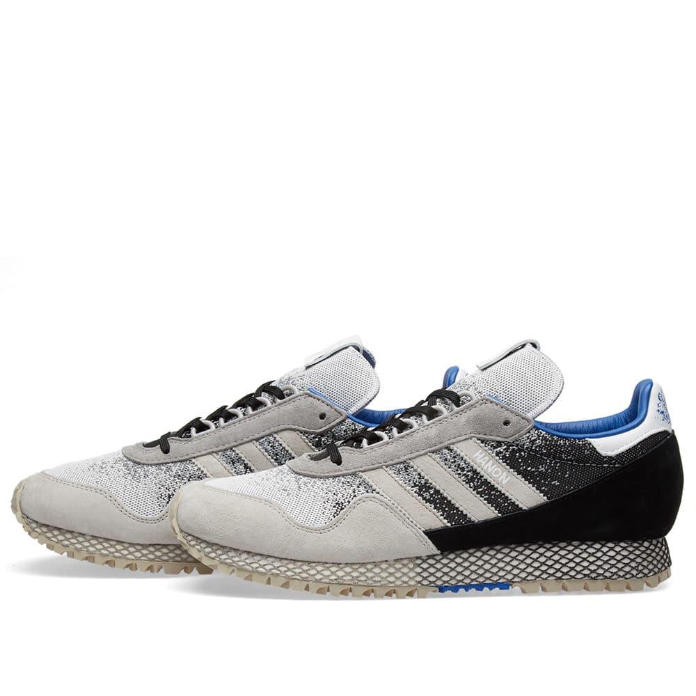 9e9e8691deaad Adidas Consortium x Hanon New York  Dark Storm  Black