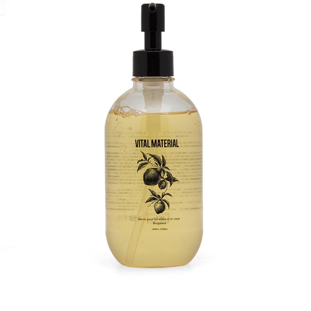 VITAL MATERIAL Vital Material Bergamot Hand Soap