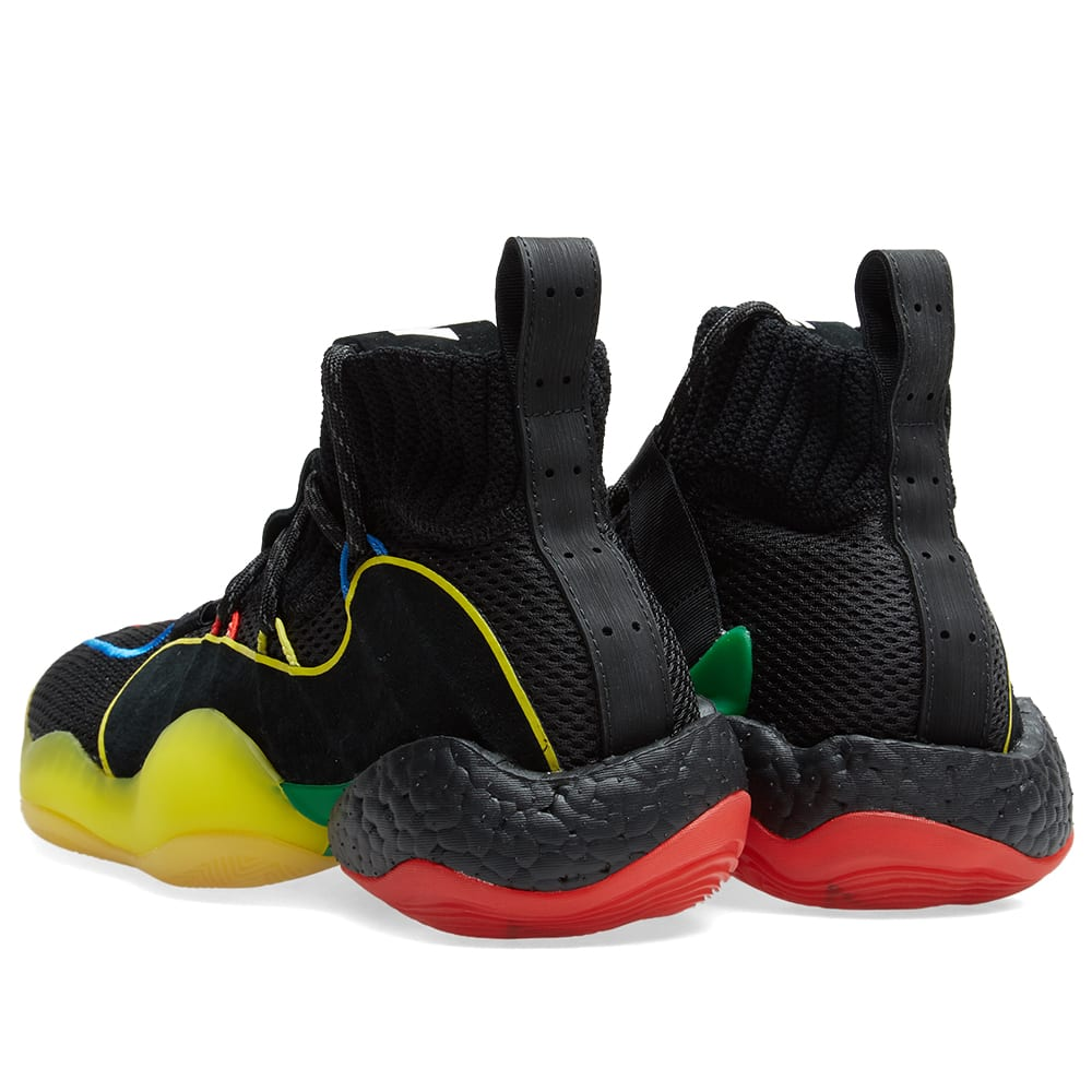 a172cefd6 Adidas Crazy BYW LVL x Pharrell Williams  Gratitude   Empathy  Black   Multi