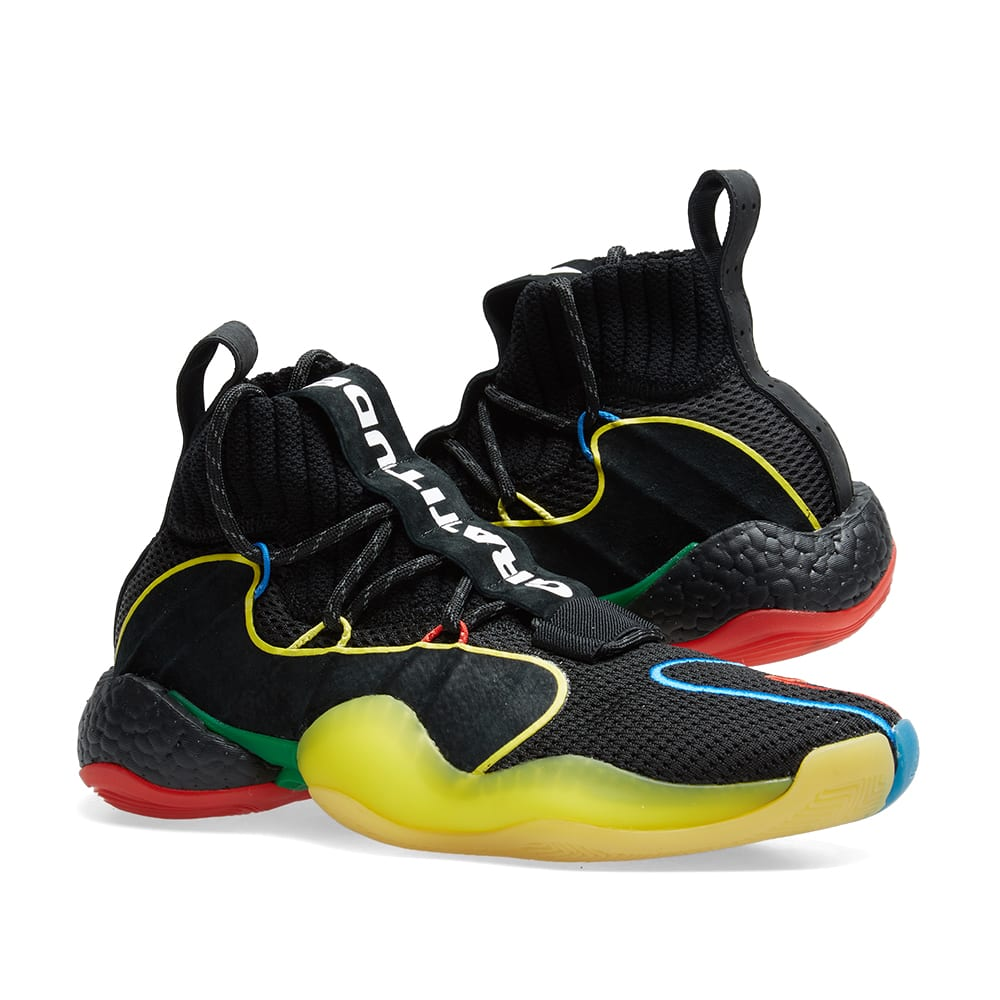 36eaeee74 Adidas Crazy BYW LVL x Pharrell Williams  Gratitude   Empathy  Black ...