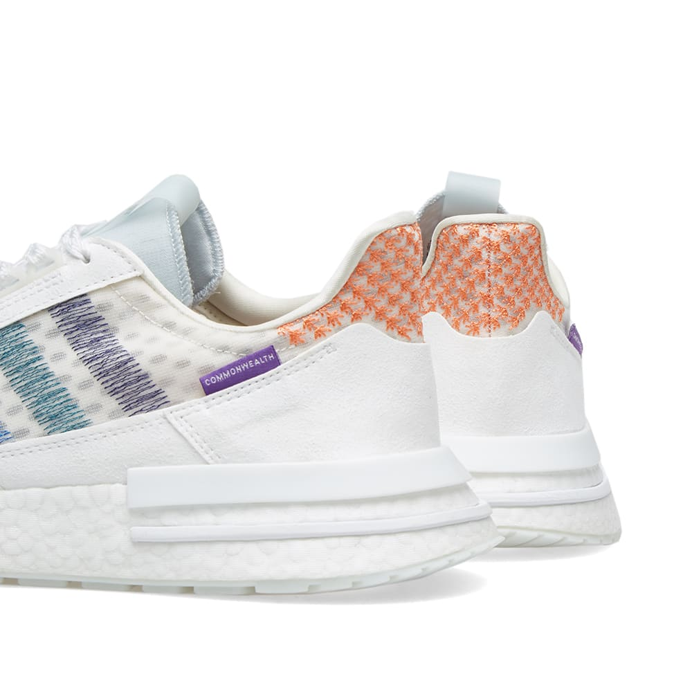 656312e2a913e Adidas x Commonwealth ZX 500 RM Orchard Tint