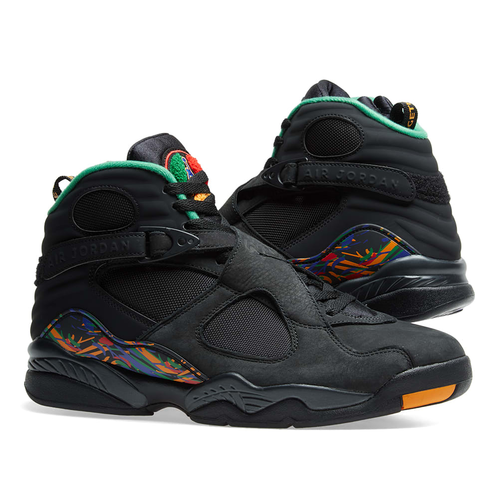 7c91174c461597 Air Jordan 8 Retro  MJ X Tinker . Black