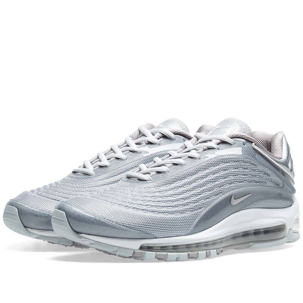 online retailer fbbce 60c3b Nike Air Max Deluxe Grey   Pure Platinum   END.