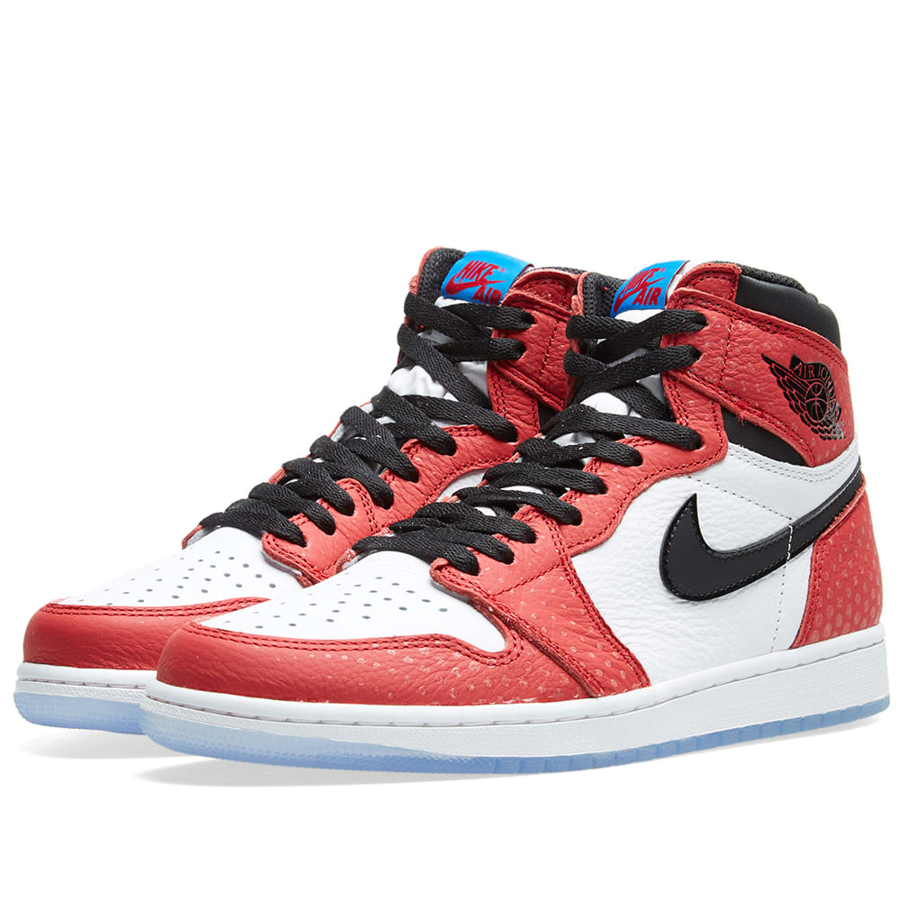 nouveau style 393fd e77ff Nike Air Jordan 1 Retro High OG Gym Red, Black & White | END.