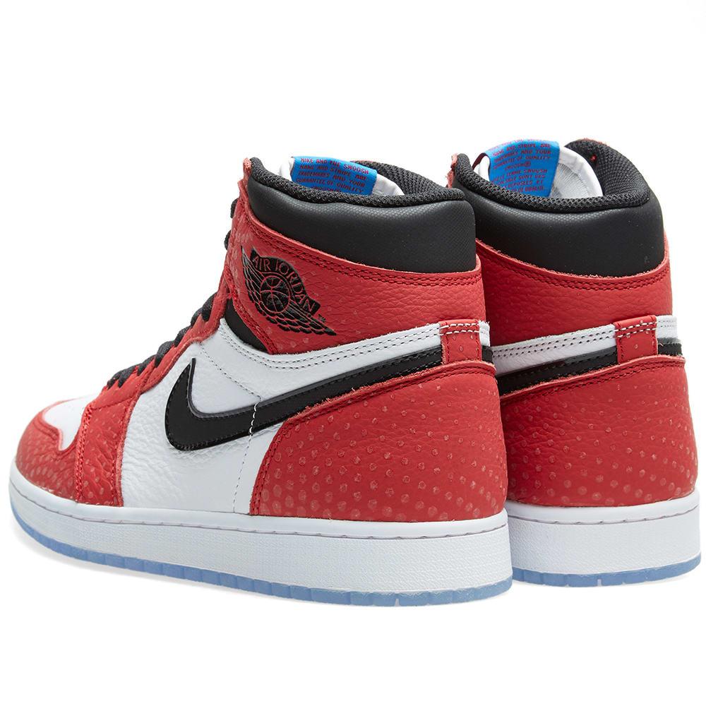 sports shoes 8ca72 c5b39 Nike Air Jordan 1 Retro High OG Gym Red, Black   White   END.