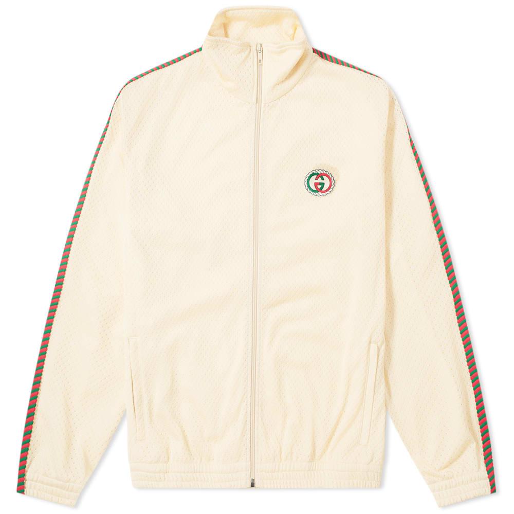 Gucci Airtex Rope Taped GG Logo Track Jacket