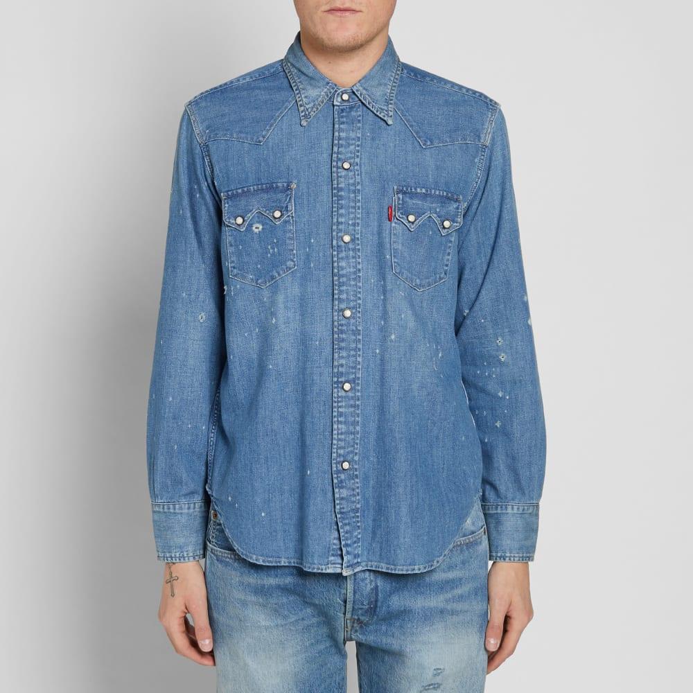 Clothing Levi's Vintage Denim 1955 Sawtooth Shirt PkiOZXu