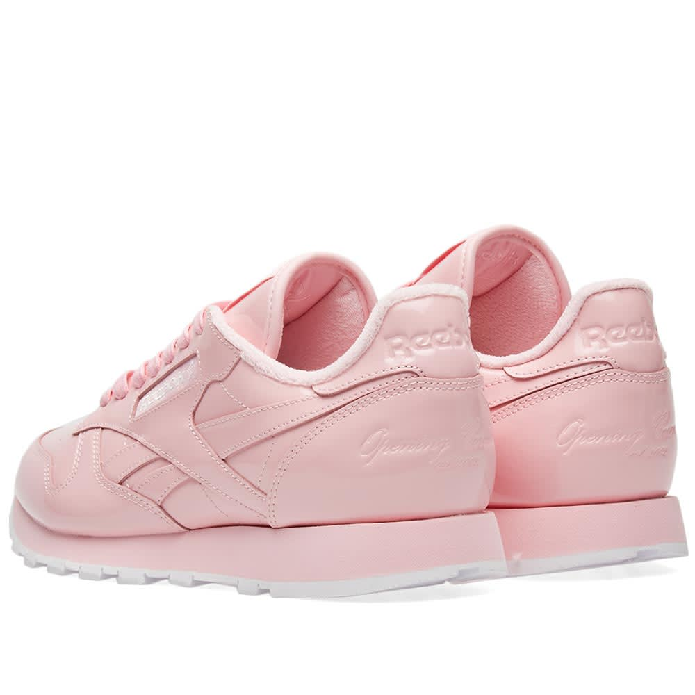 f3315b2f8 Reebok x Opening Ceremony Classic Leather Pink Glow & White | END.