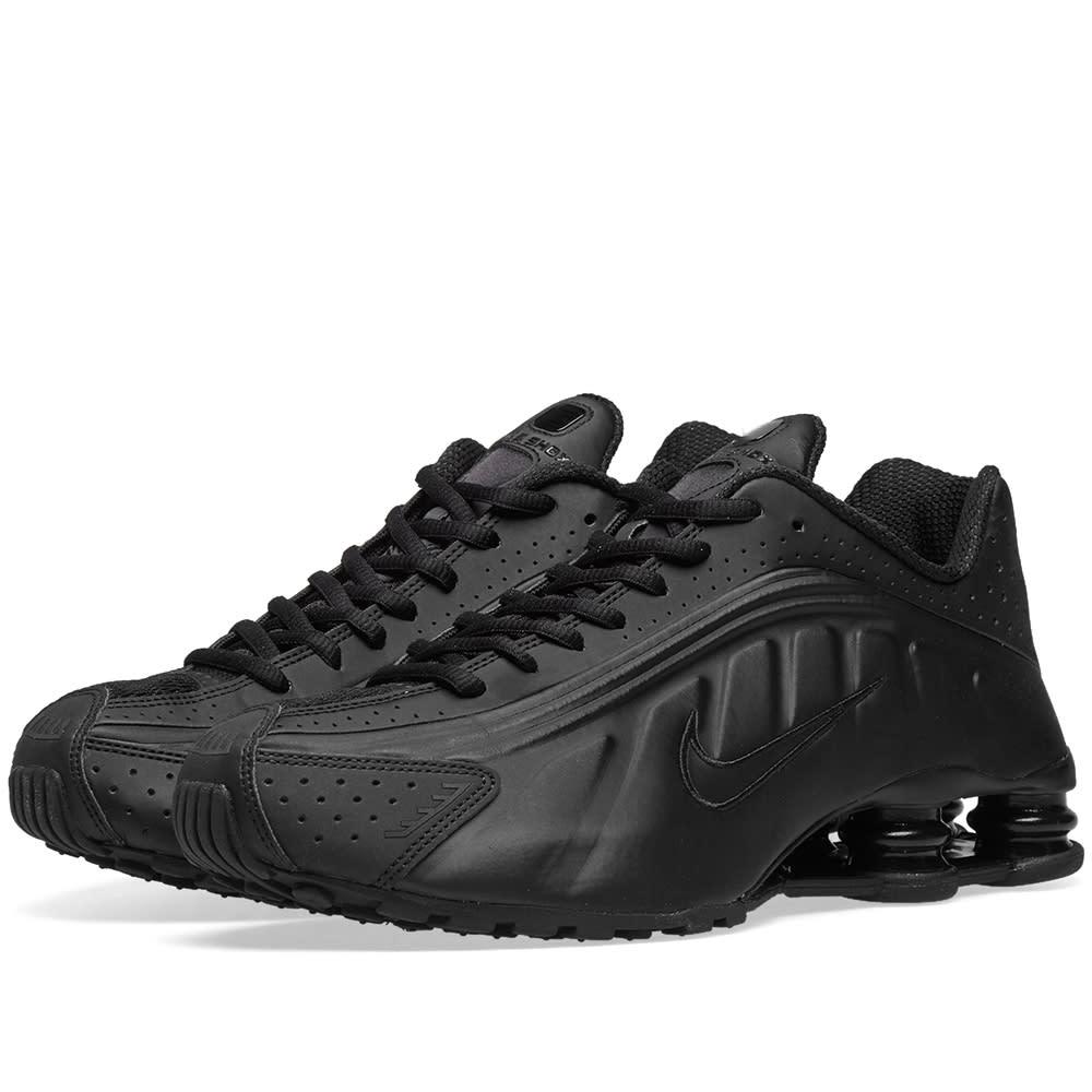best sneakers 5882d 86cfd Nike Shox R4 Black   END.