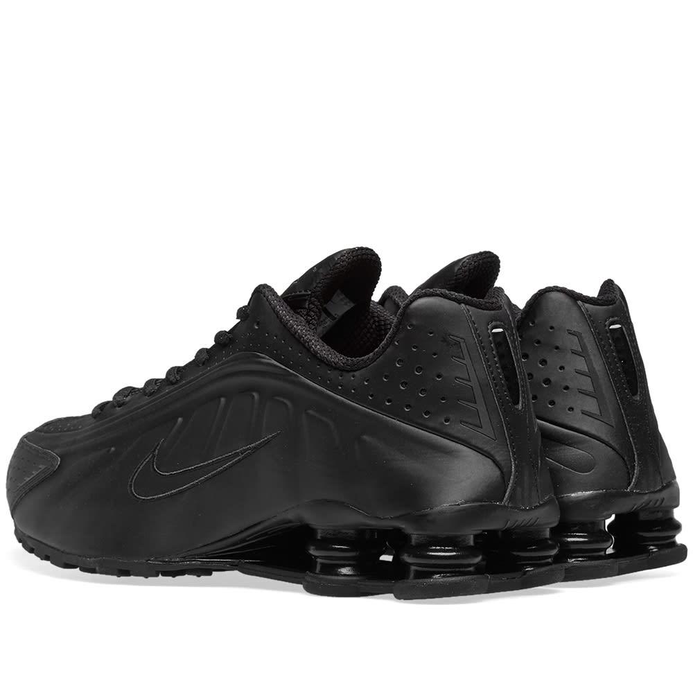 best sneakers ff656 ff7bb Nike Shox R4 Black   END.