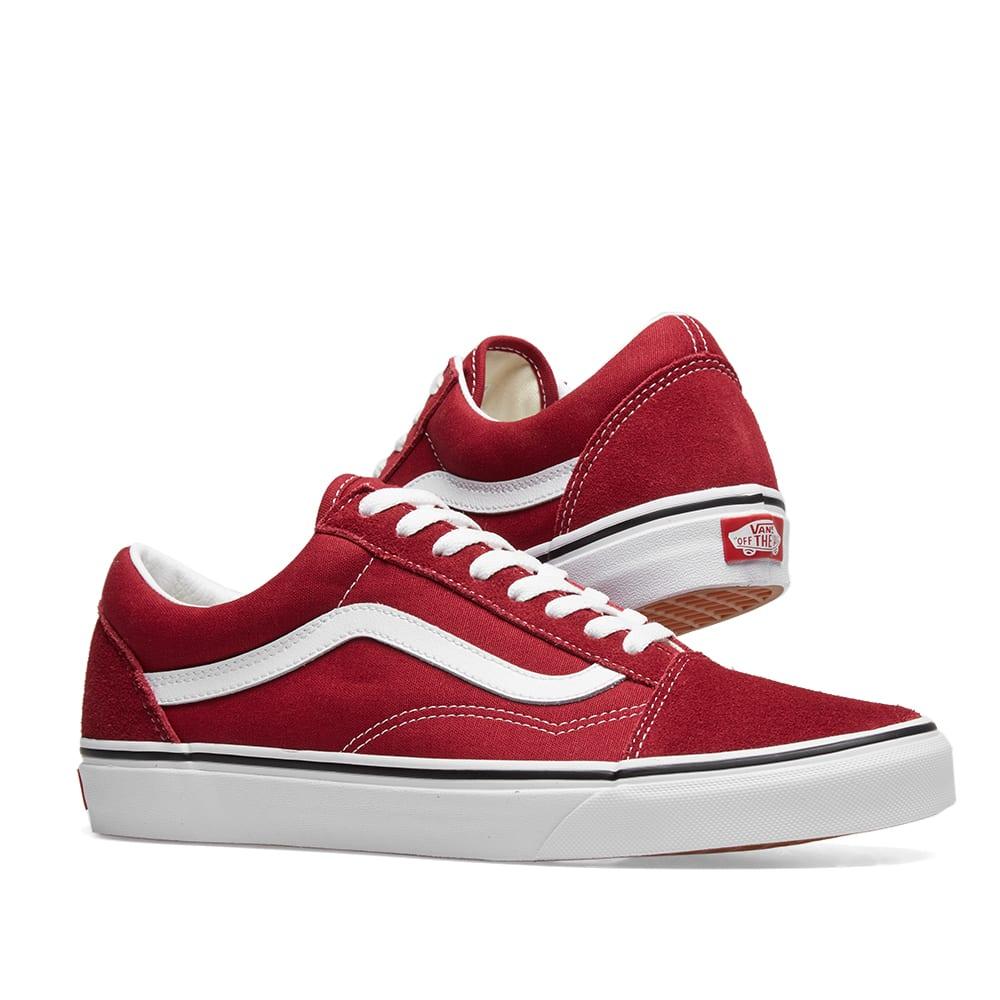 cfa68d8272a83 Vans UA Old Skool Rumba Red & True White | END.