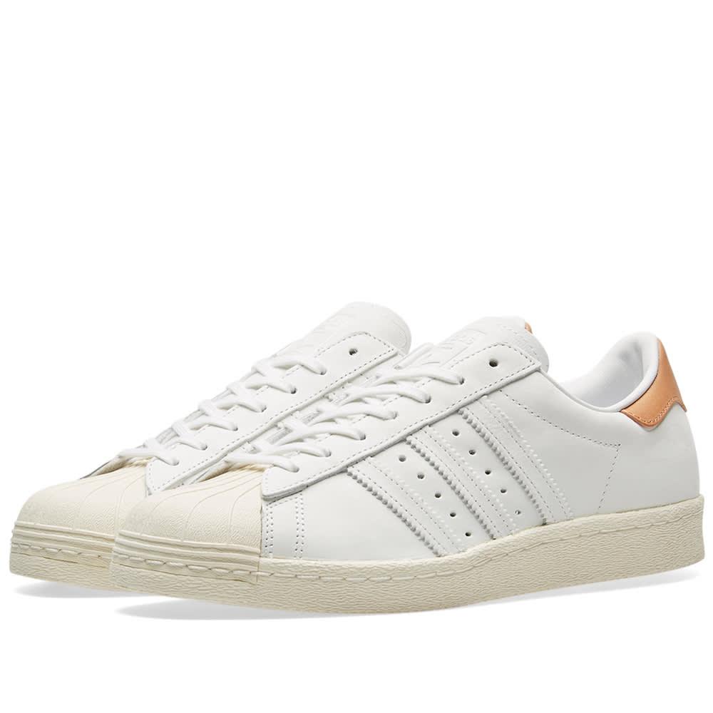 Adidas Women's Superstar 80s W White