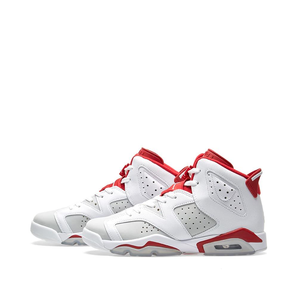 2ed4ad5880a0 Nike Air Jordan 6 Retro BG  Alternate  White