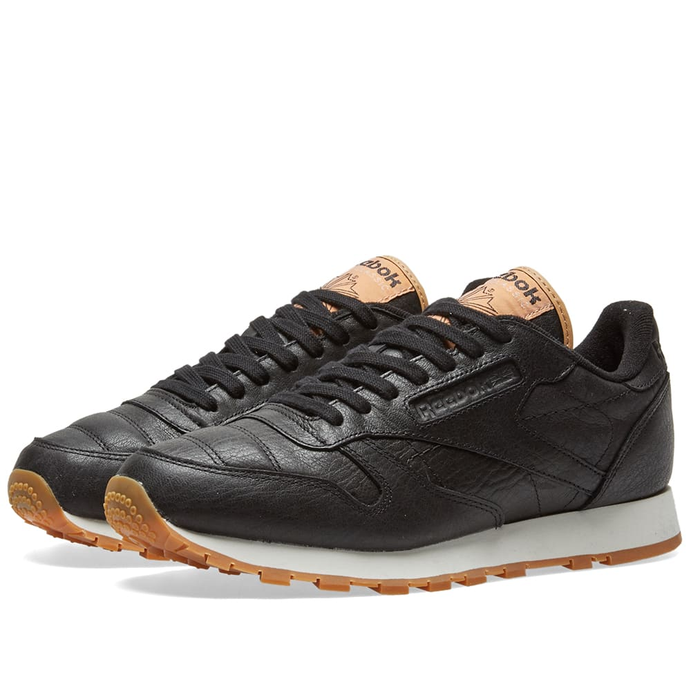 big sale 4df3c fa726 Reebok Classic Leather Boxing Black   Golden Horizon   END.