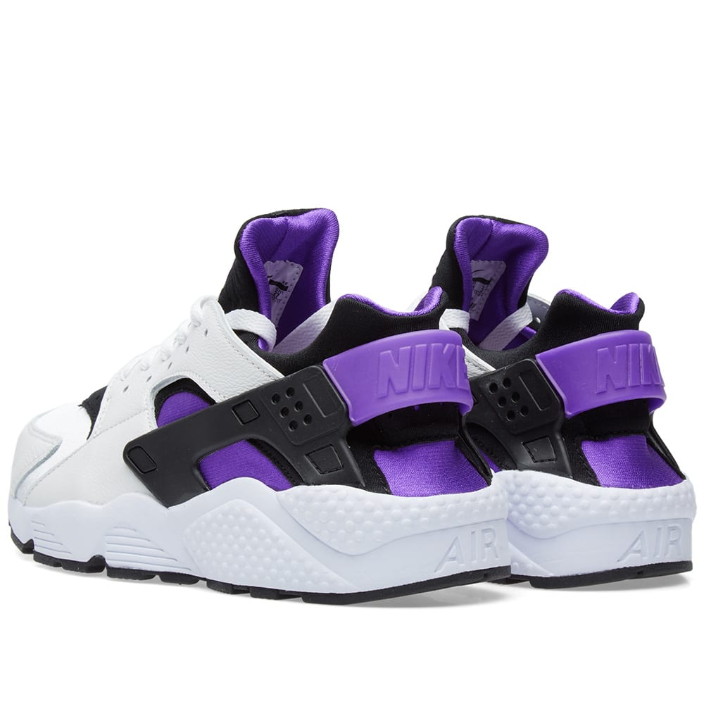 wholesale dealer 0b266 18e42 Nike Air Huarache Run  91 Black, Purple Punch   White   END.