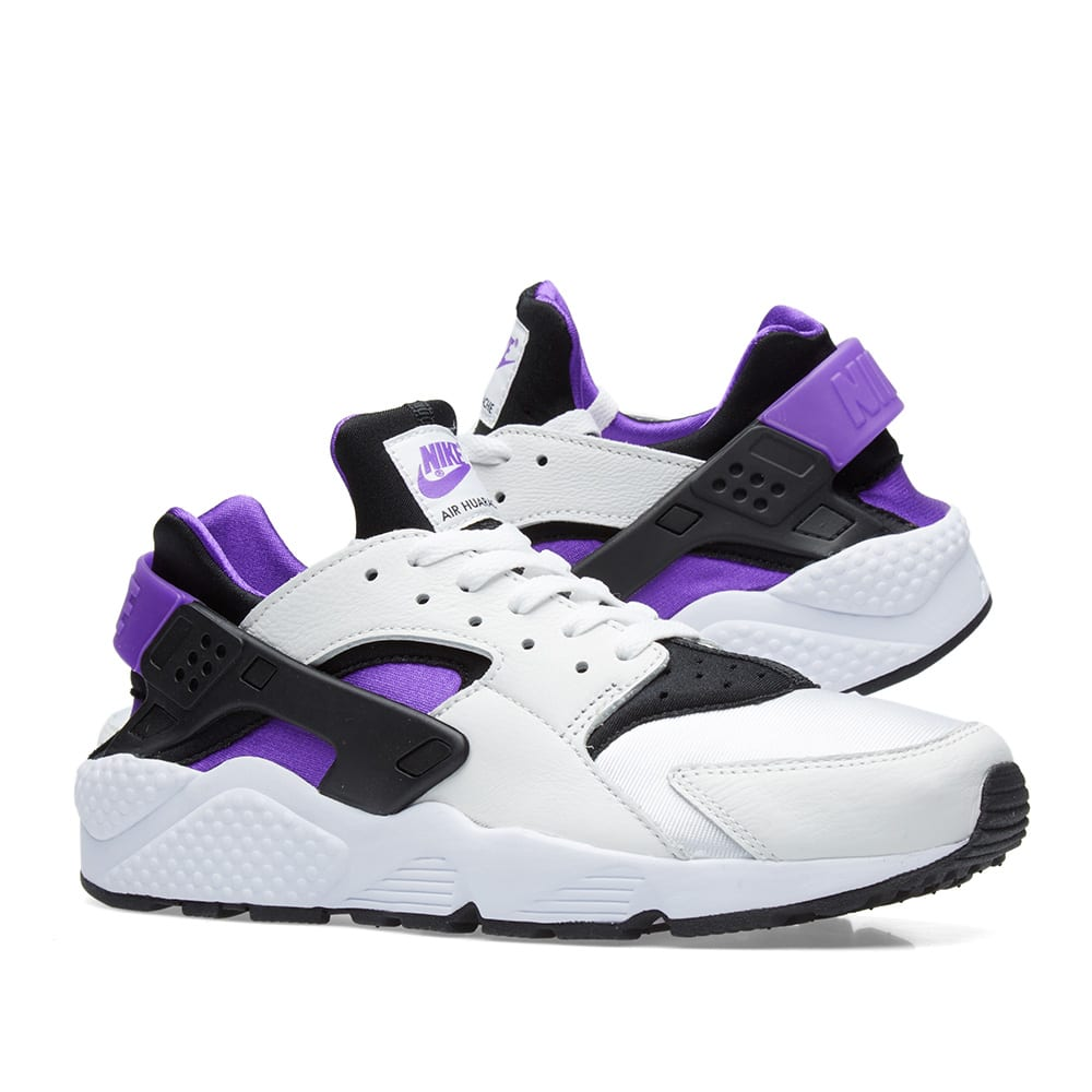 pretty nice b3fbc 02cda Nike Air Huarache Run  91. Black, Purple Punch   White