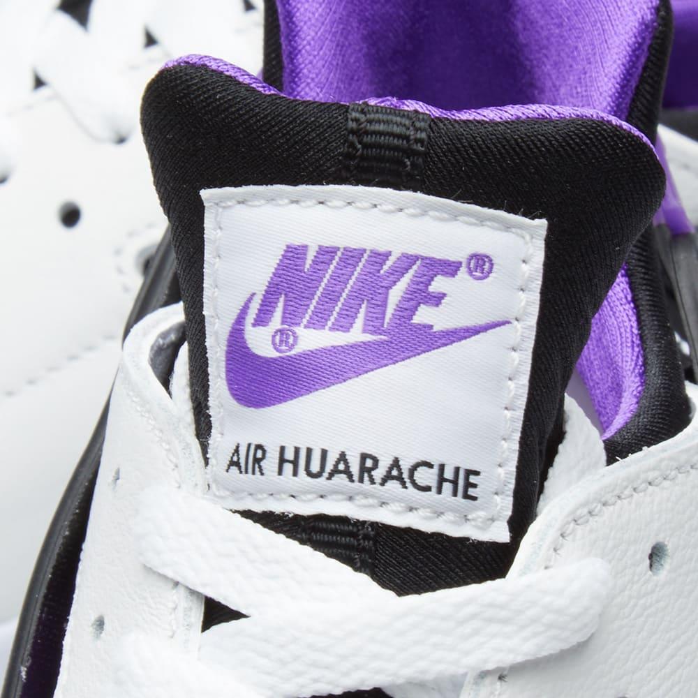 wholesale dealer d86e9 6a301 Nike Air Huarache Run  91 Black, Purple Punch   White   END.