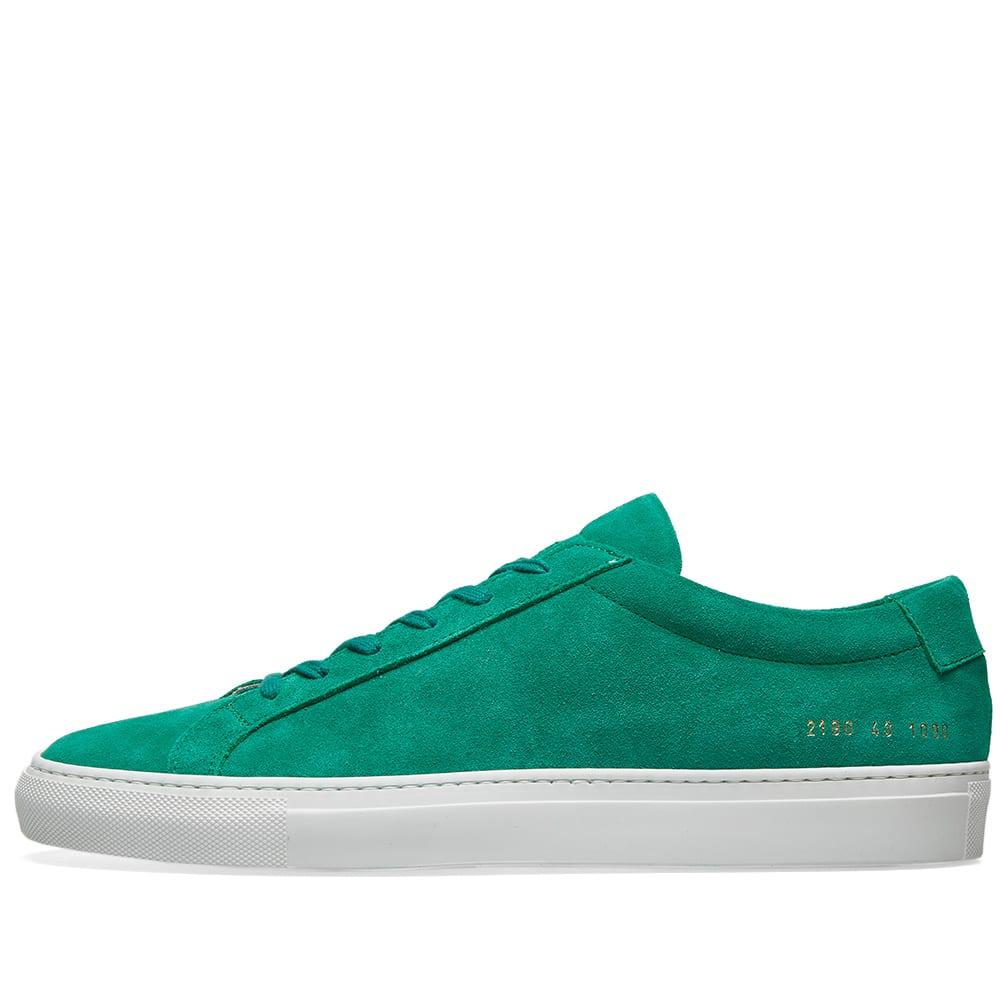 Original Achilles Low Suede Green