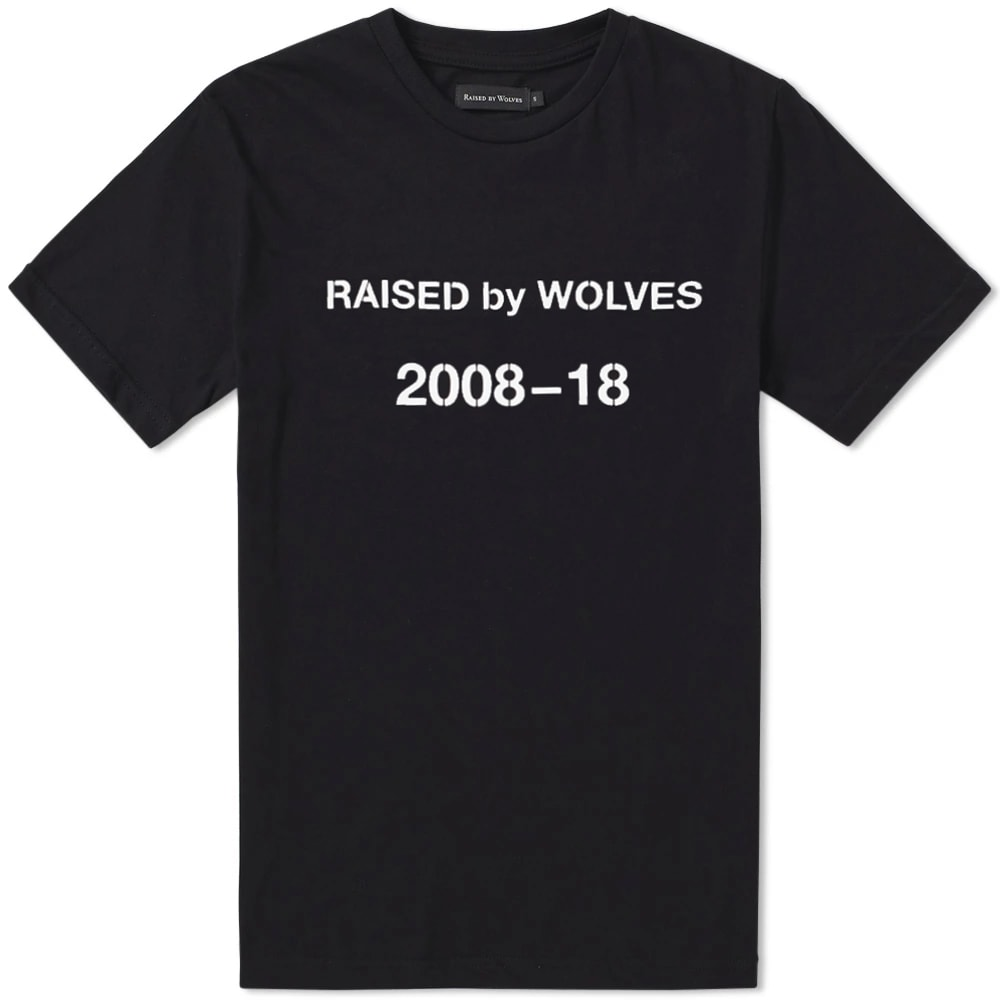 RAISED BY WOLVES DECADE TEE