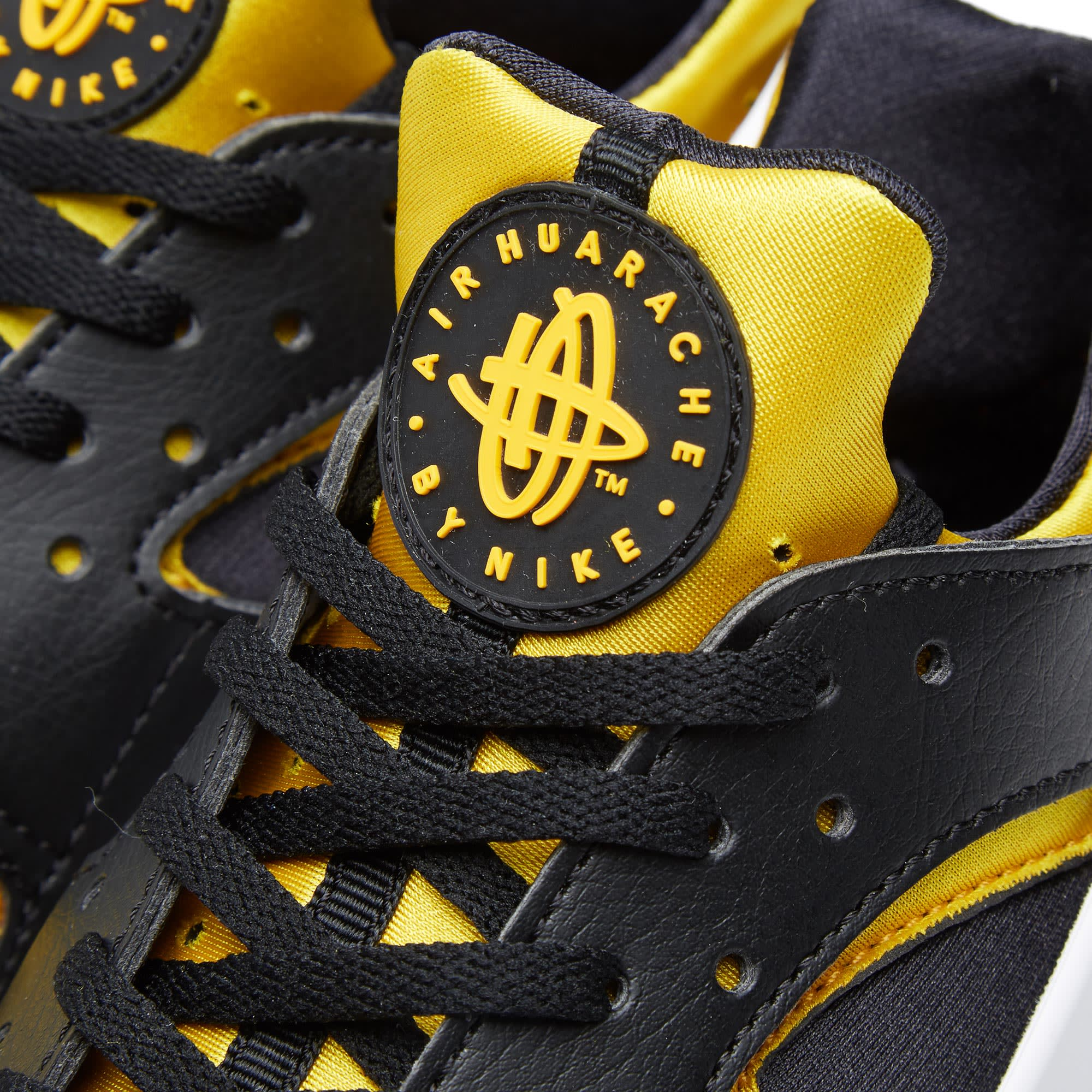 promo code 81b49 5ae65 Nike Air Huarache Run  Berlin  Black   University Gold   END.