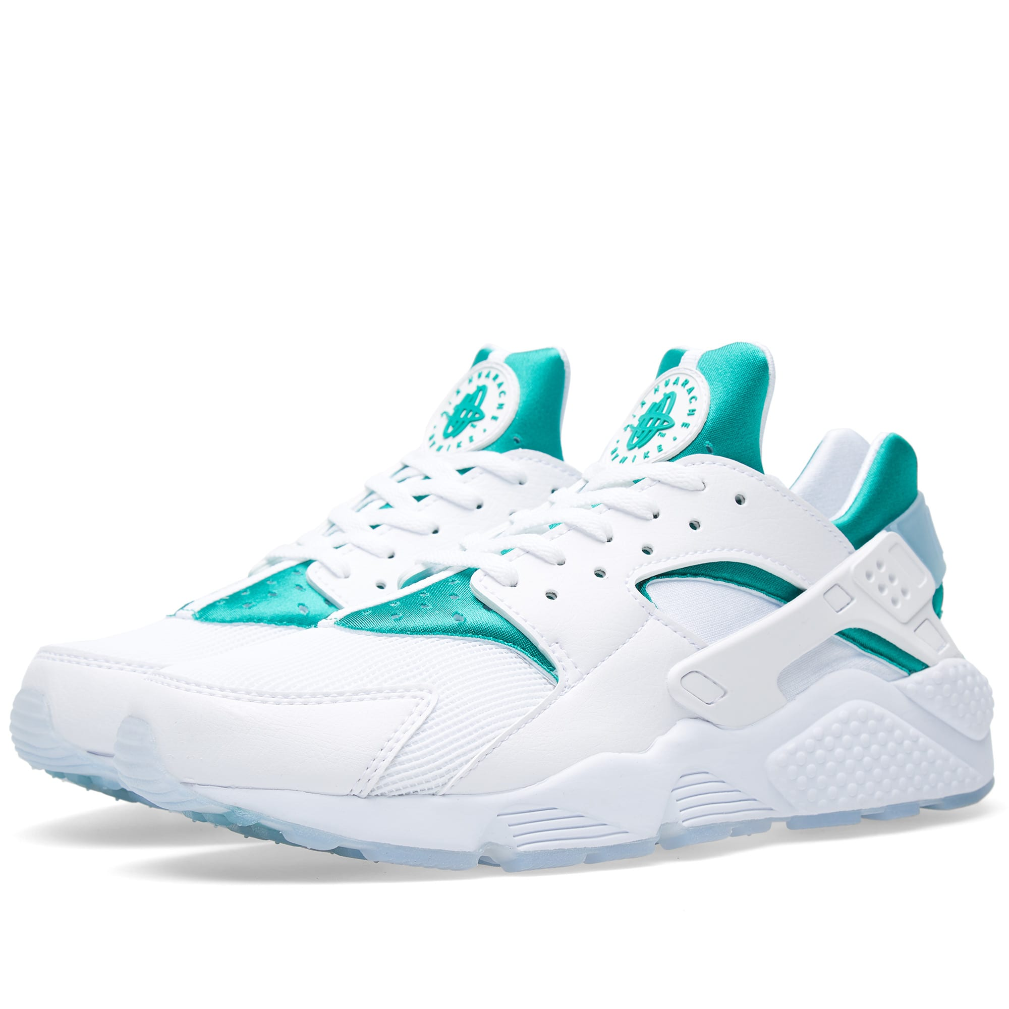 super popular e35e6 3378b Nike Air Huarache Run  Paris  White   Emerald Green   END.