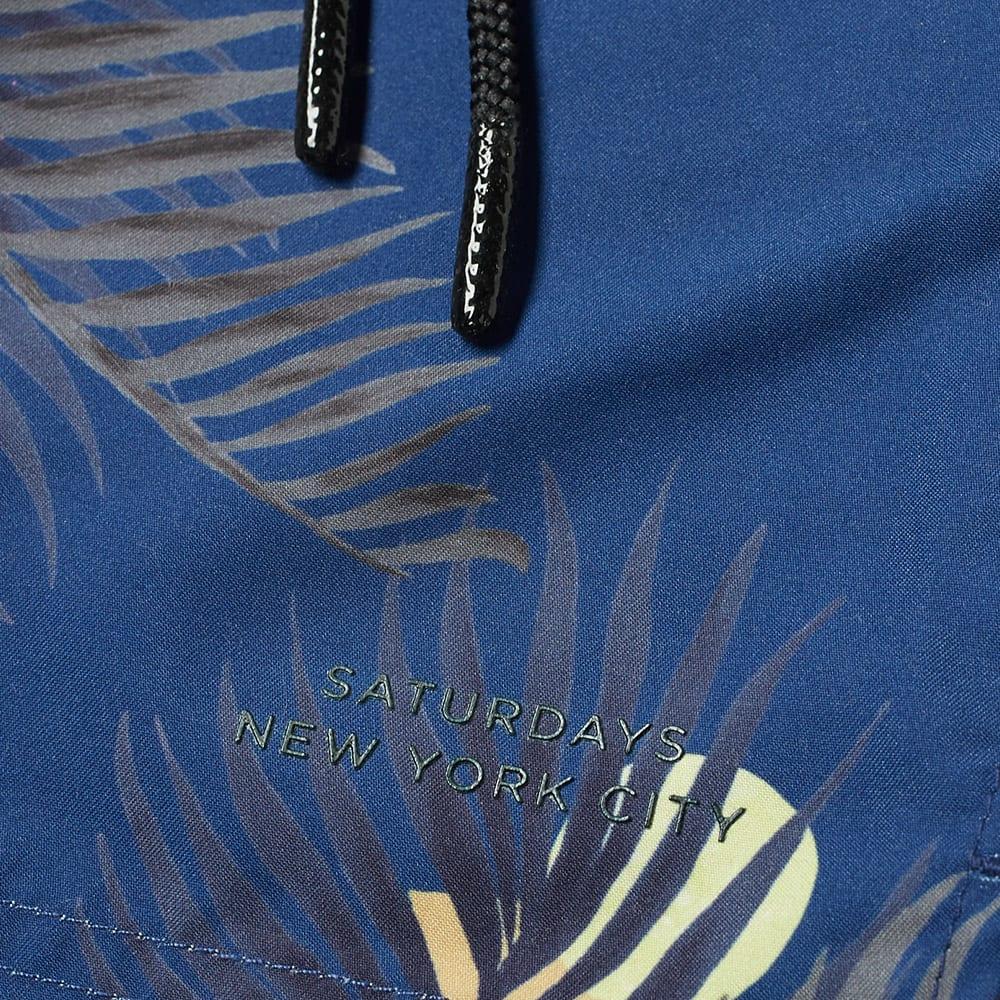 d39fa6a7f9 Saturdays NYC Timothy Peak Palm Swim Short Cobalt | END.