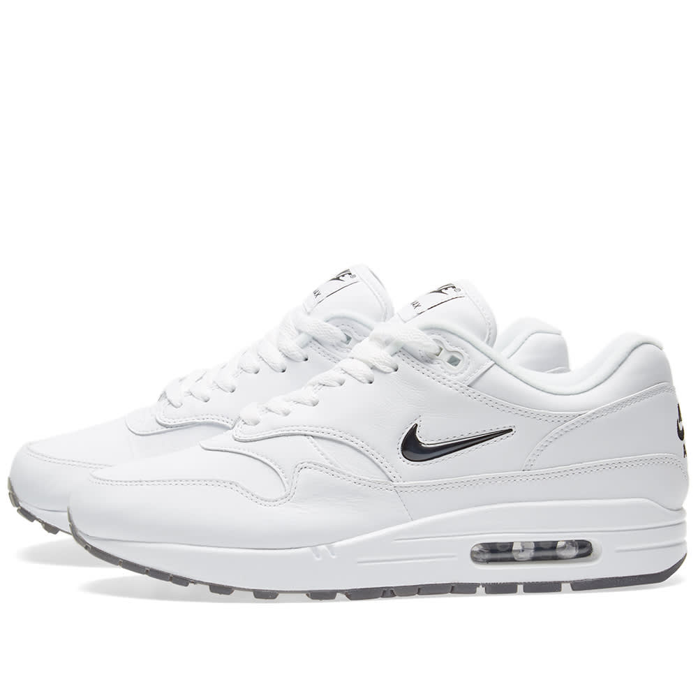 finest selection 105bd de8da Nike Air Max 1 Premium SC White   Black   END.