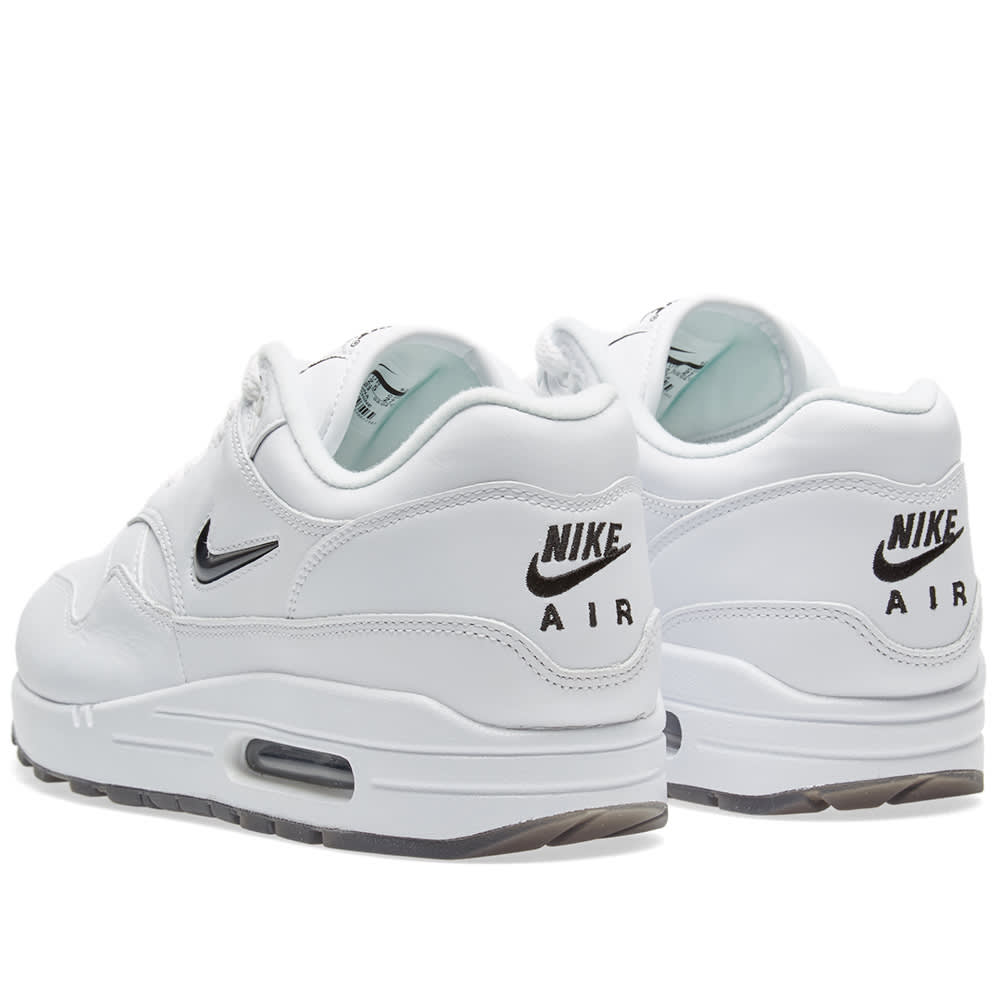 detailed look 0ee78 4898f Nike Air Max 1 Premium SC White & Black | END.