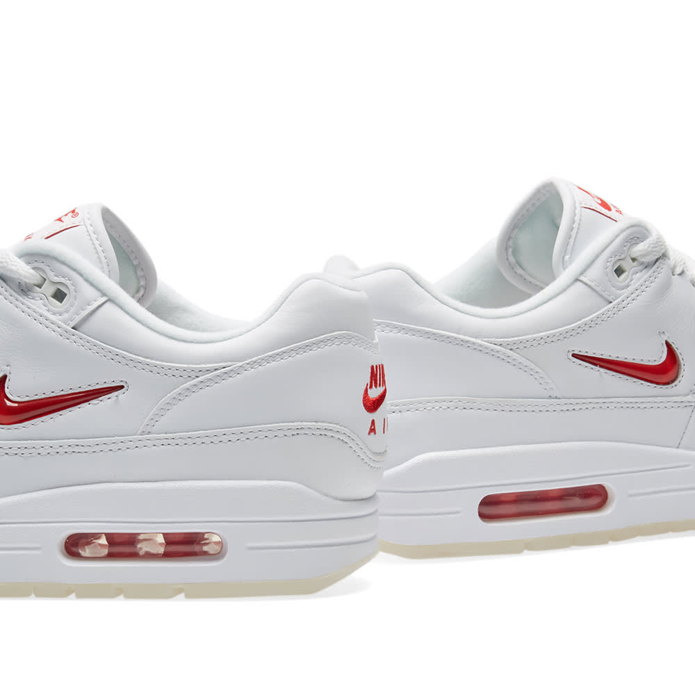 new styles f0d51 76239 Nike Air Max 1 Premium SC White   University Red   END.
