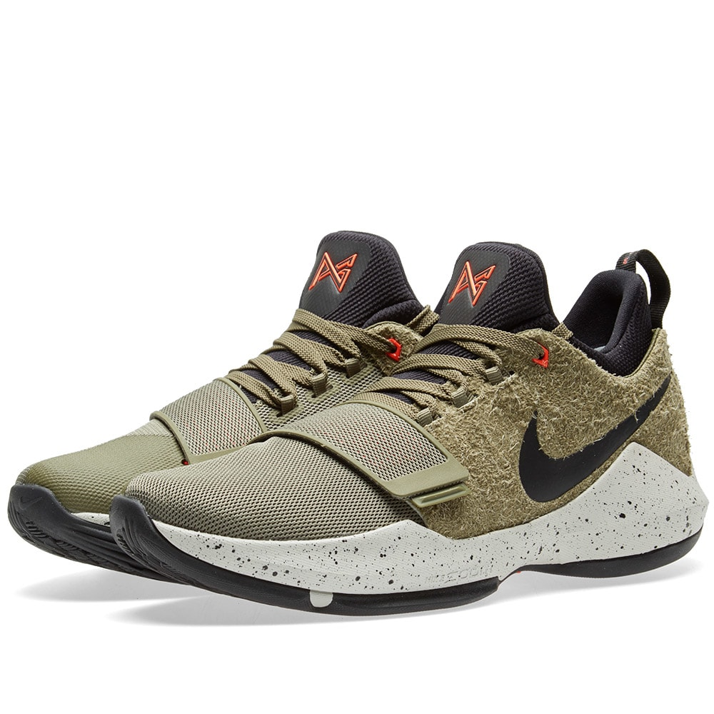de5cfaf41fa7 Nike PG 1 Elements Medium Olive