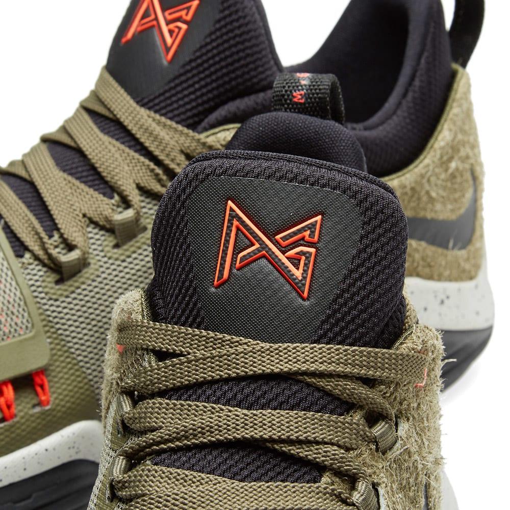 new style 71b4b 42120 Nike PG 1 Elements Medium Olive   END.