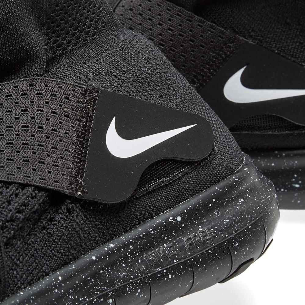 ffba3de5eee1 Nike x Undercover Gyakusou Free RN Motion Flyknit 2017 Black   White ...