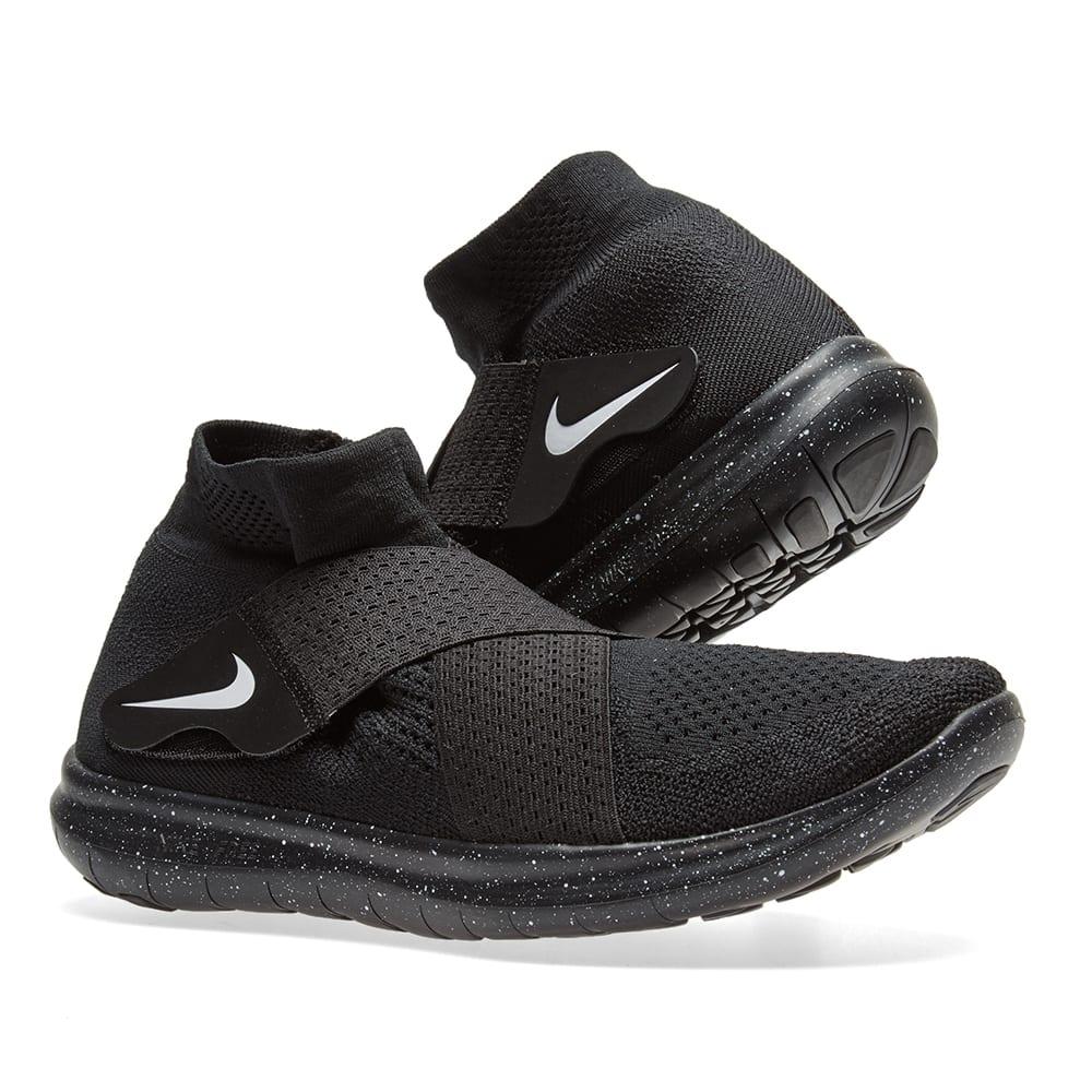 86b9f8c1da708 Nike x Undercover Gyakusou Free RN Motion Flyknit 2017 Black   White ...
