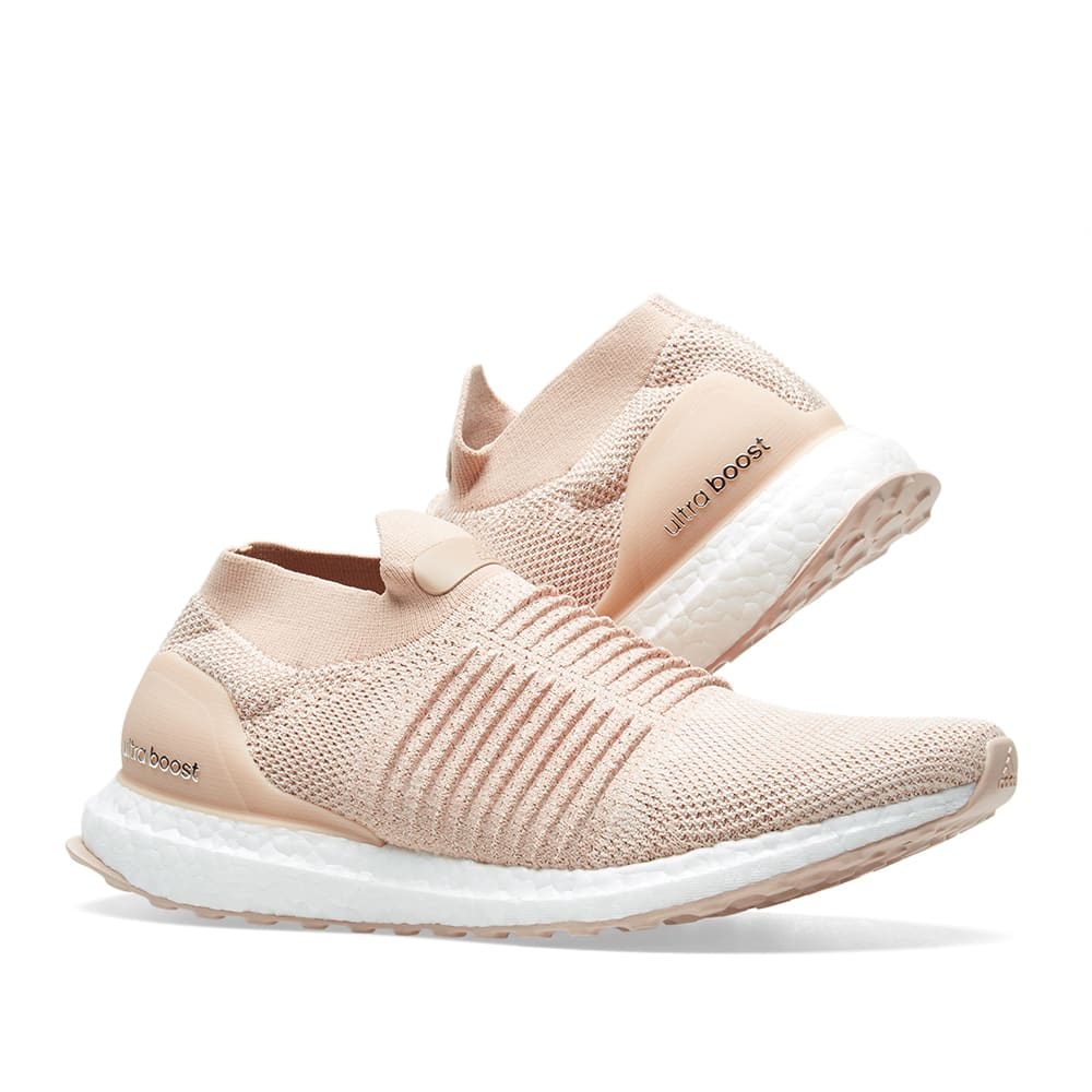 0258134882 Adidas Ultra Boost Laceless W Ash Pearl