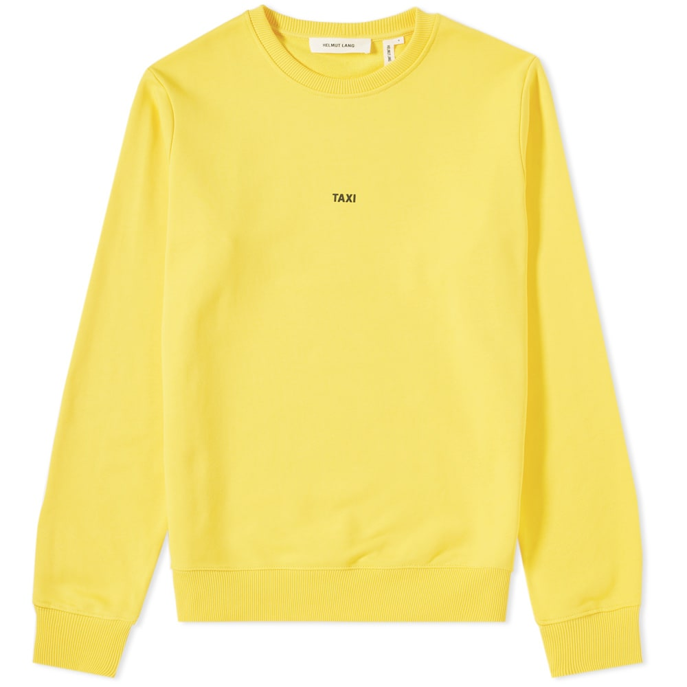 Taxi Logo Sweatshirt, Yellow from EAST DANE
