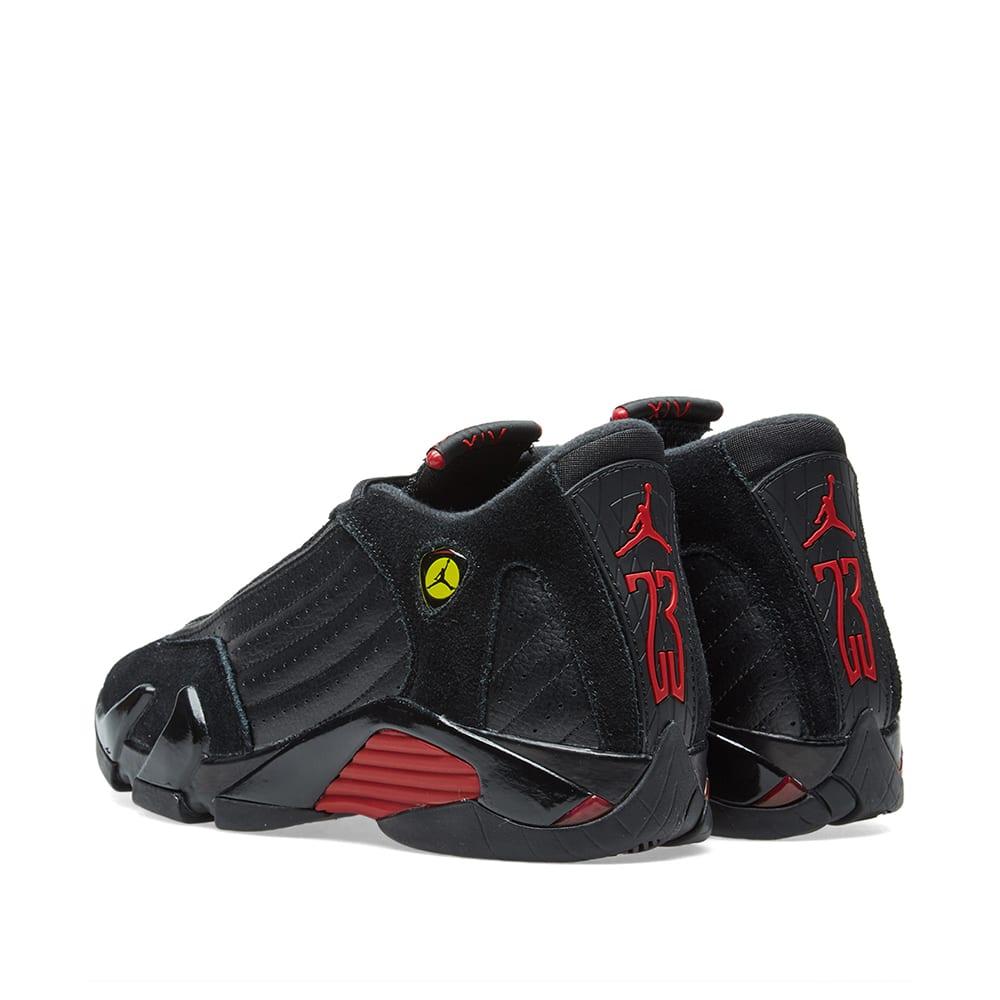 4c96c3975208 Air Jordan 14 Retro BG Black   Varsity Red