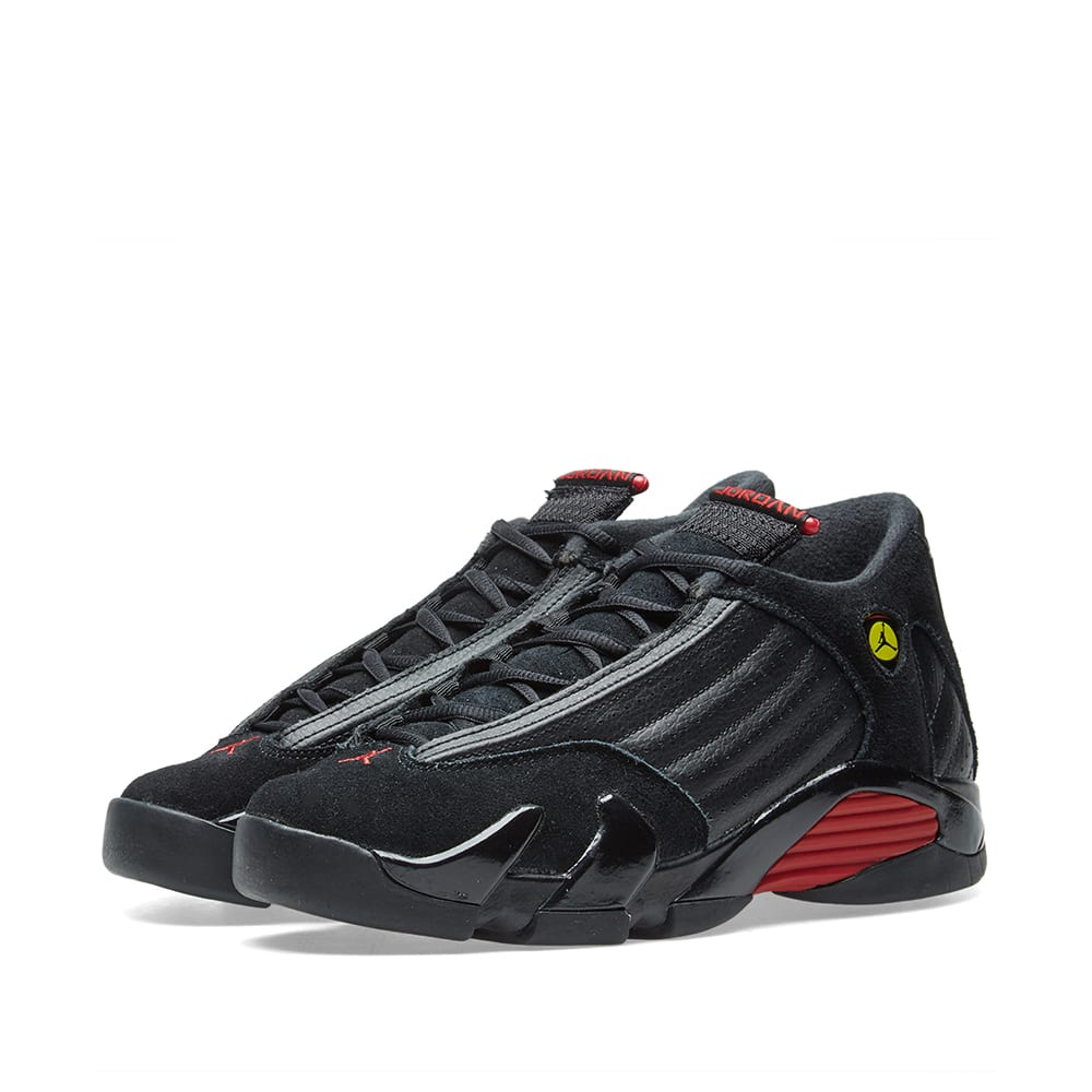 size 40 5c88c 15fb8 Air Jordan 14 Retro BG Black   Varsity Red   END.
