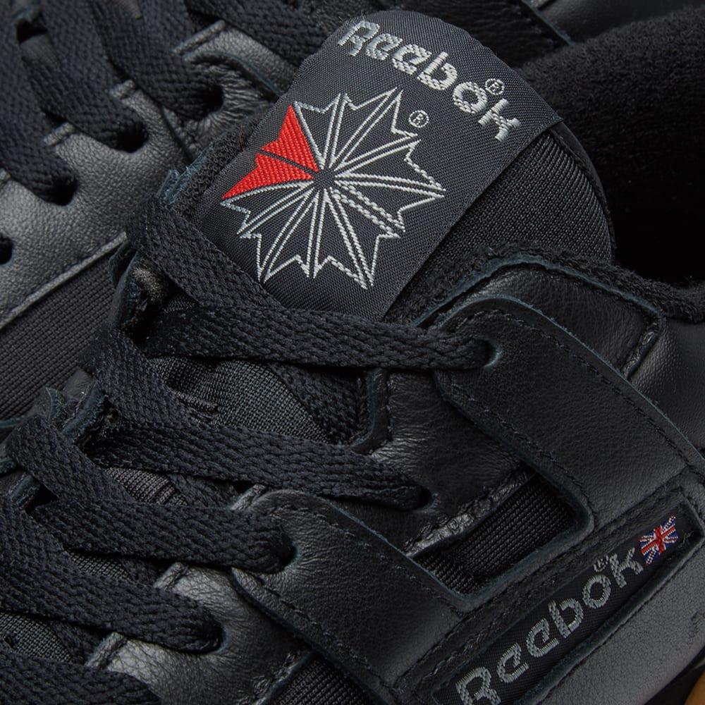 Reebok Workout 85 Textile Black, Carbon