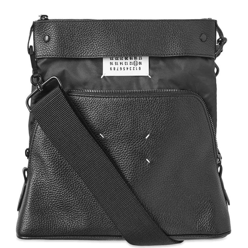 vasta selezione di ba12b d13e9 Maison Margiela 11 Leather Portafoglio Convertible Bag