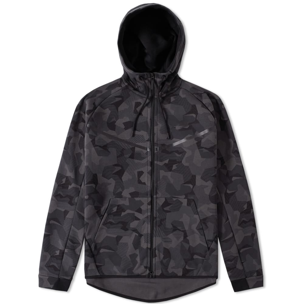 nike tech fleece camo windrunner anthracite black. Black Bedroom Furniture Sets. Home Design Ideas
